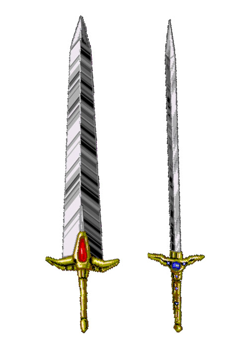 The designs for the Sword of Valis Valisjpg